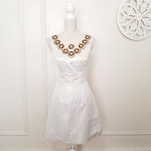 Lilly pulitzer size 2 embroidery dress